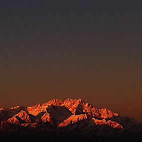 slipping budha by Sudhindu bikash Mandal - Landscapes Mountains & Hills