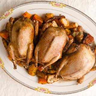 Roast Pigeon.