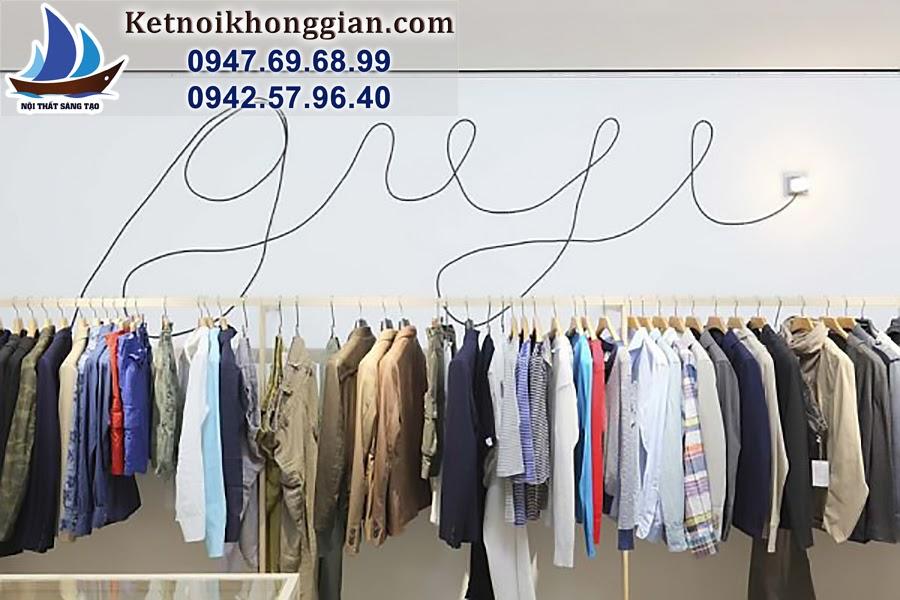 thiết kế cửa hàng quần áo thời trang nam chuyên nghiệp