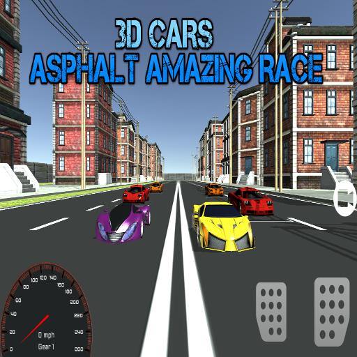 3D Cars : Asphalt Amazing Race