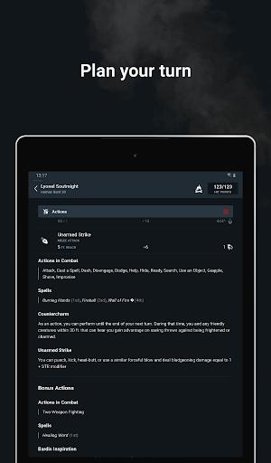 D&D Beyond Player Tools screenshot 20