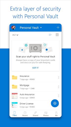 Microsoft OneDrive 6.12 screenshots 5