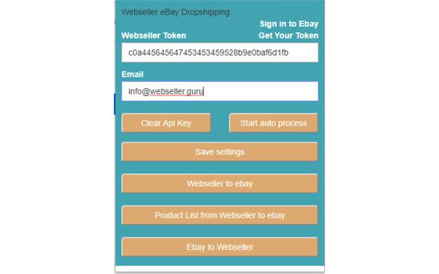 Web Seller Guru manual dropshipping