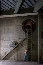 Photo: An upper floor inside the reactor building of an un-finished nuclear power plant.