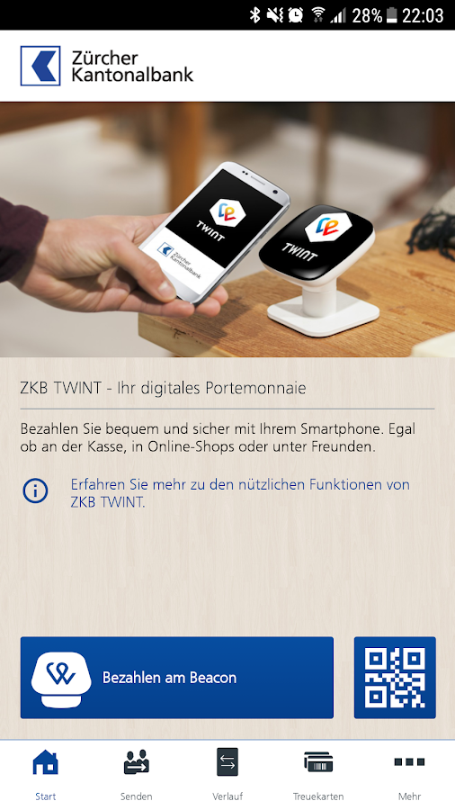 ZKB TWINT- screenshot