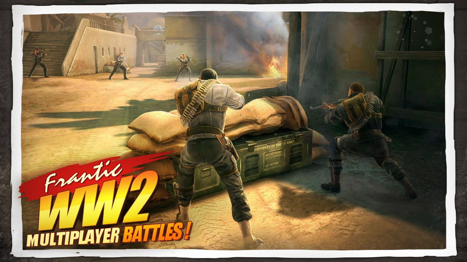 Screenshots of Brothers in Arms® 3 for iPhone