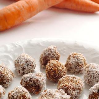 No-Bake Carrot Balls.