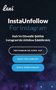 İnstaUnfollow For İnstagram screenshot