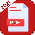 PDF Reader 2021 - PDF Docs Scanner and Converter icon