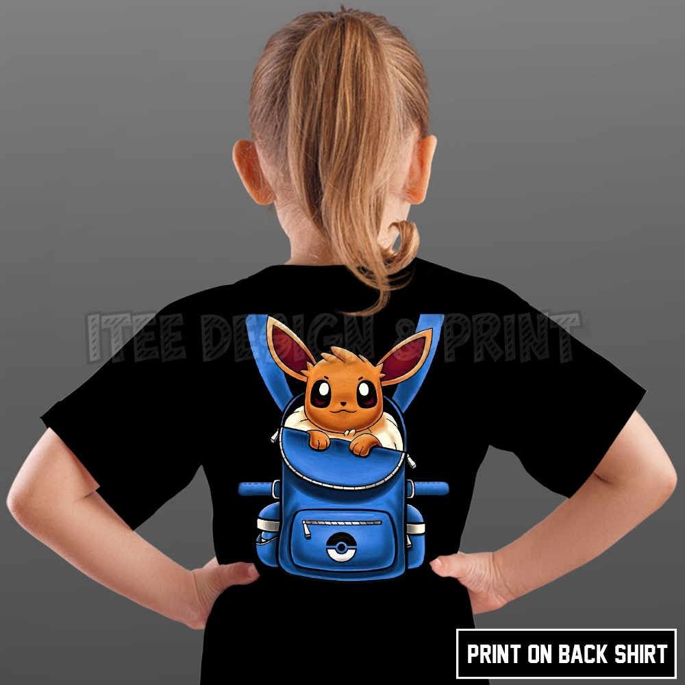 Eevee Pokemon Backpack 21
