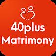 40Plus Matrimony App - 40Plus Brides and Grooms icon