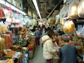 Photo: In Fa Yuen Market near the Dragon Hostel