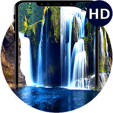 Waterfall Live Wallpaper - 3D Moving Backgrounds App