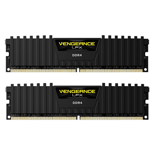Bộ nhớ DDR4 Corsair 16GB (2400) C14 CMK16GX4M2A Ven LPX (2x8GB)