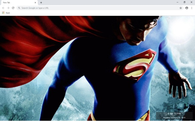 Superman New Tab & Wallpapers Collection
