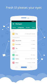 File Expert with Clouds Screenshot 3