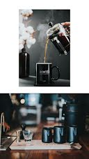 French Press Pour - Photo Collage item