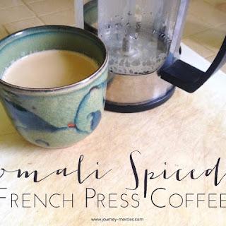 Somali Spiced French Press Coffee