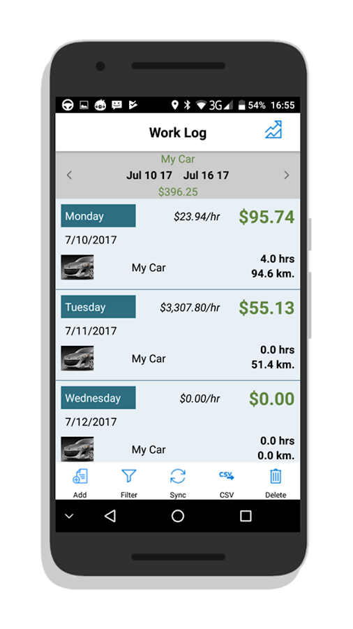 iDrive for Uber- screenshot