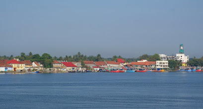 Photo: Cochin India from the dock