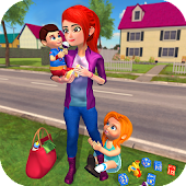 Unduh Permainan Happy Family Saudara bayi Nanny Mania Gratis