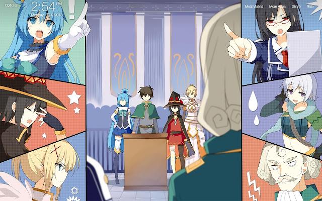 Konosuba Wallpapers HD Backgrounds