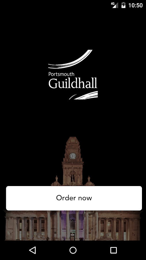 Portsmouth Guildhall Bars- screenshot