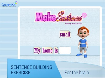 Make Sentences - Age 5-35. screenshot 0