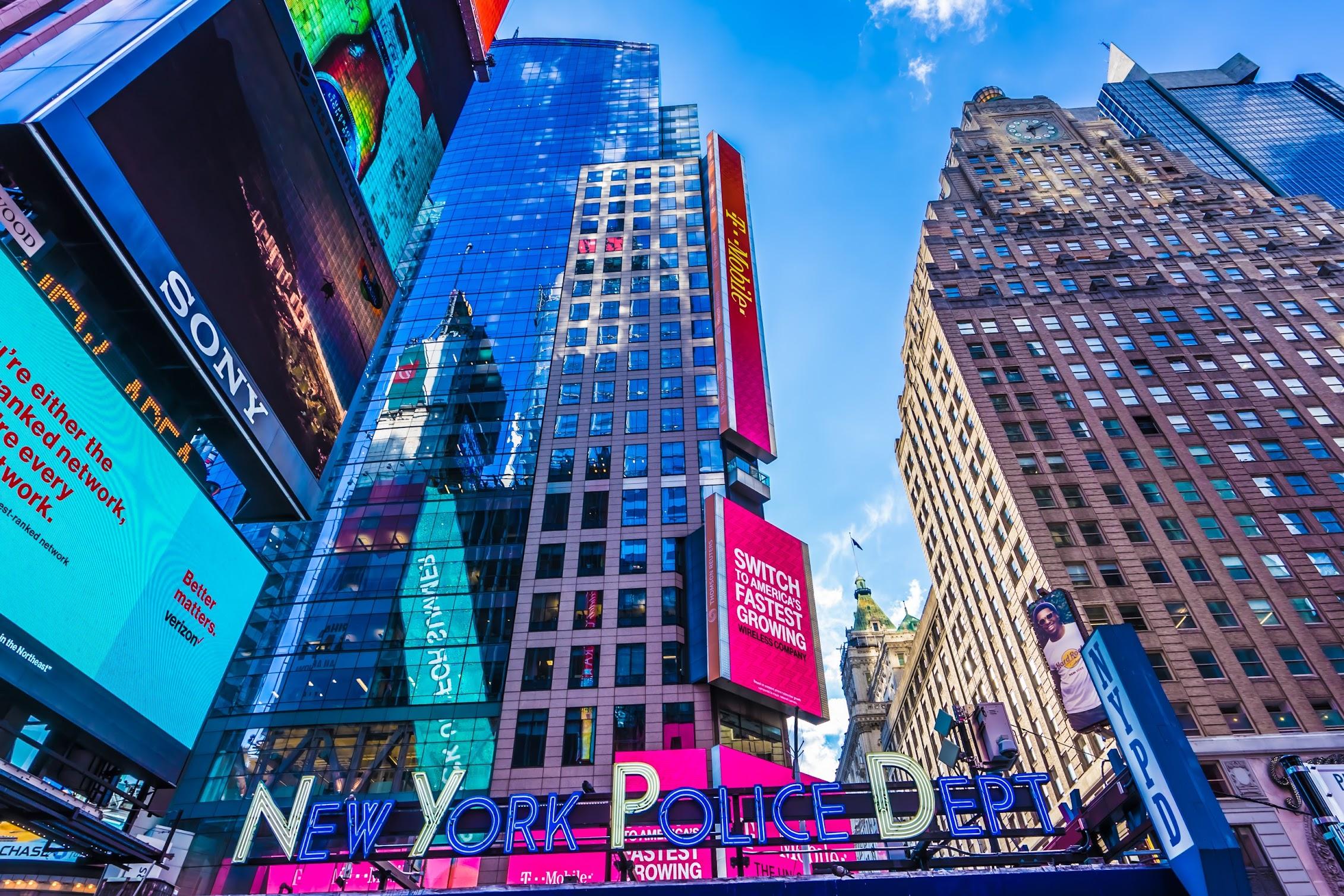 ニューヨーク タイムズスクエア2