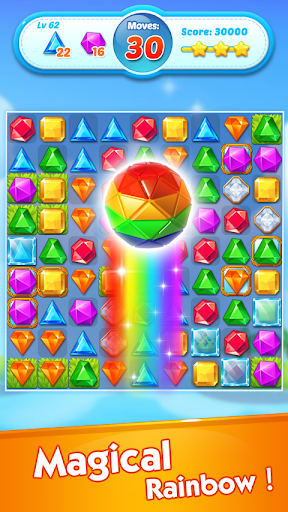 Jewels Crush - Match 3 Puzzle Aventure fond d'écran 2