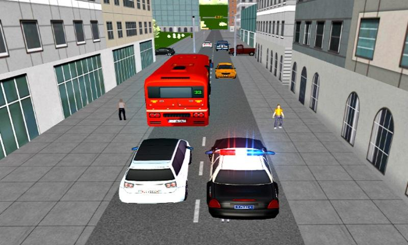 New York Police Car Driver: Mad City Crime Life 3D- screenshot