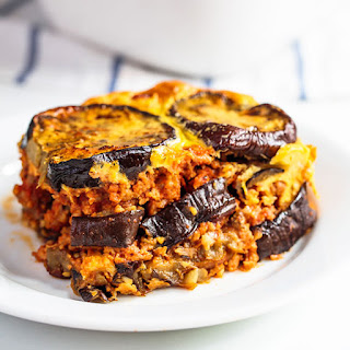 Eggplant Beef Casserole.