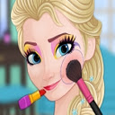 Now And Then Elsa Makeup