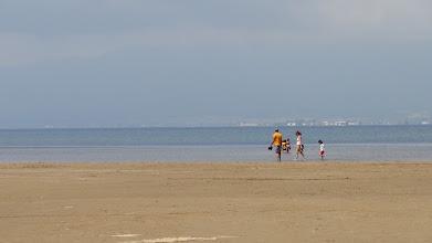 Photo: Looking across the lagoon towards St Carles del la Rapita