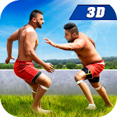 Kabaddi Game for Playing 3D - Indian Sports