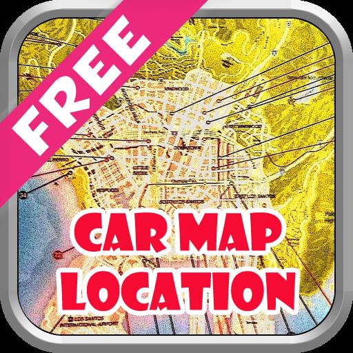 Car Map Locate Guide For GTA 5