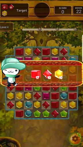 Télécharger Gratuit Jewel match puzzle king: match 3 games 2020 mod apk screenshots 3