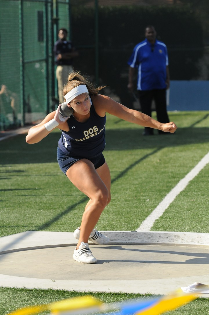Shot Put DPP_0445 - California CIF SS Masters - Southern Section 2013