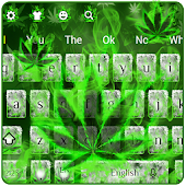 (FREE 2018)Weed Rasta Smoke Keyboard Theme