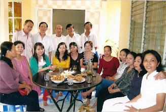 Photo: Cựu học sinh NLSBD thăm Thầy Công Tại Đồng Tháp ( 17-08-08)