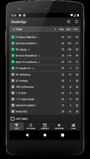 Football DE (The German 1st league) 2.171.0 screenshots 6