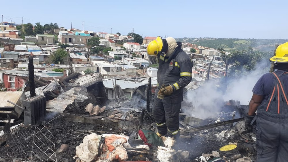 WATCH | Fire in Nompumelelo, East London, leaves family of four homeless