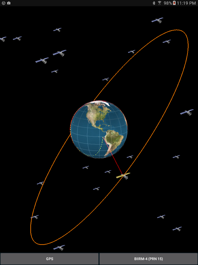 Orbit - Satellite Tracking- screenshot