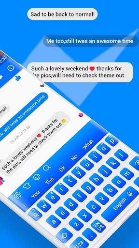Keyboard Theme for Facebook Messenger 10001002 screenshots 4