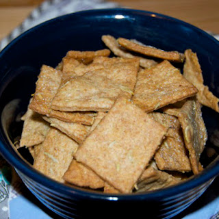 Rosemary Olive Oil Wheat CRACKers.