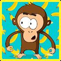 Kungfu Monkey: Bananas Attack icon
