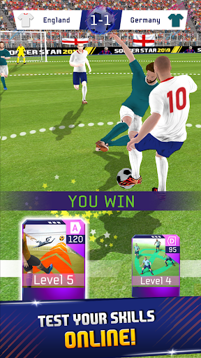 Soccer Star 2020 Football Cards: The soccer game screenshots 4