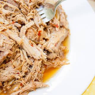 Carolina Style Slow Cooker Pulled Pork.