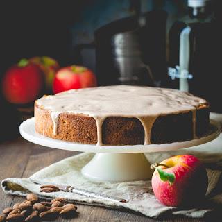 Maple Apple Almond Cake.