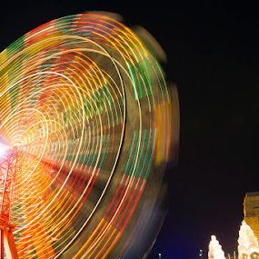 Big Ferris Wheel at Luna Park Sydney by Adam Beniston - City,  Street & Park  Amusement Parks